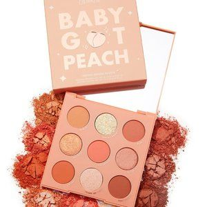 Colourpop Baby got peach shadow Palette